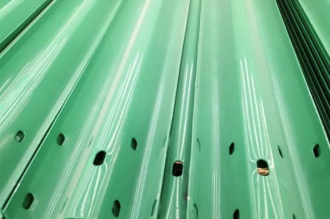 波形护栏板工艺生产流程