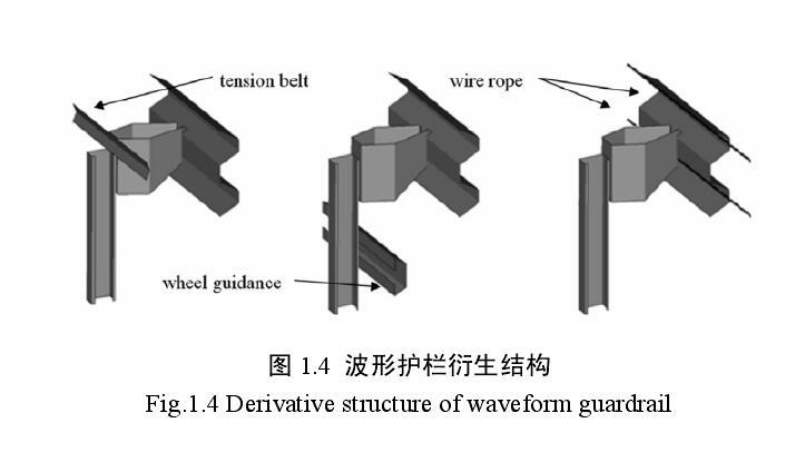 波形护栏板结构